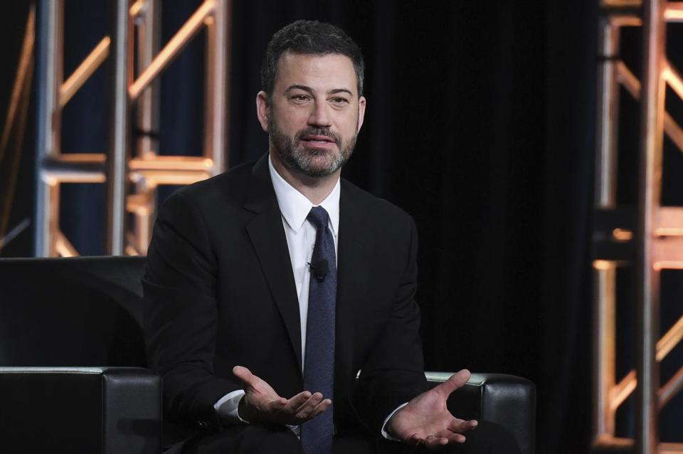 Jimmy Kimmel blames Trump, Congress for school shooting